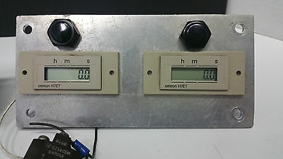 Omron H7et Counter   Includes both units