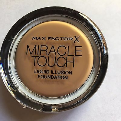 Max Factor Miracle Touch Liquid Illusion Foundation - Caramel 85 11.5g