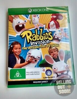 Rabbids Invasion The Interactive TV Show Xbox One NEW AUSSIE GAME for X1 console