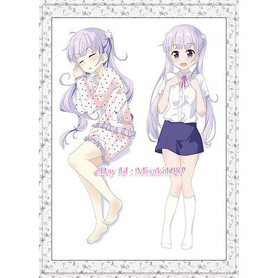 New Game Dakimakura Aoba Suzukaze Anime Girl Hugging Body Pillow Case Covers