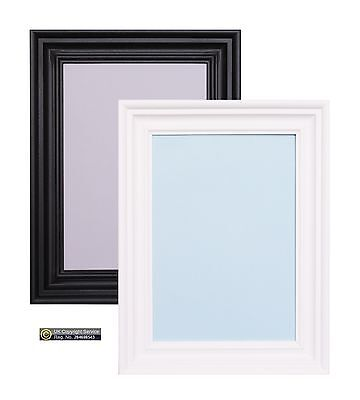 WHITE & BLACK Large Photo Picture Frames Wall Hanging Decor Poster ...