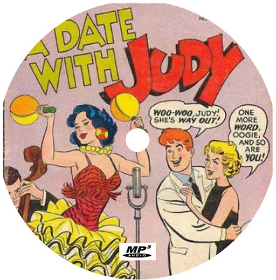 A Date With Judy (40 Shows) Old Time Radio Mp3 Cd