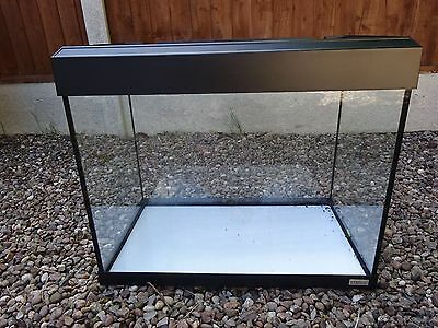 fluval roma 90 litre aquarium in black picclick uk. Black Bedroom Furniture Sets. Home Design Ideas