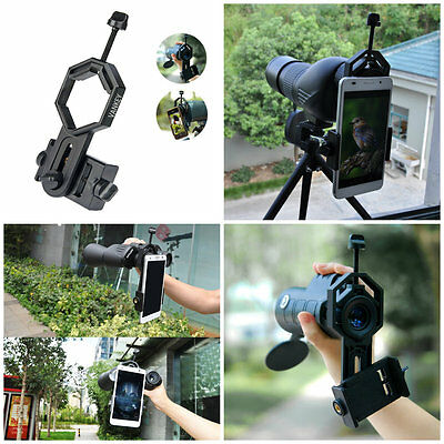 Smartphone Telescope Adapter Mount for Rifle Scope Binocular Monocular Spotting