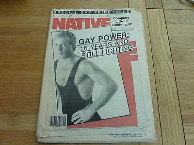 1984 Issue 92 New York Native Gay Newspaper Original Complete