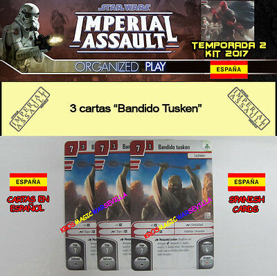 STAR WARS IMPERIAL ASSAULT 2017 TEMPORADA 2 KIT ESPAÑOL - 3 Bandido Tusken