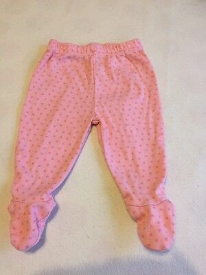 Baby Girls Clothes 0-3 Months - Cute  All In One Trousers -