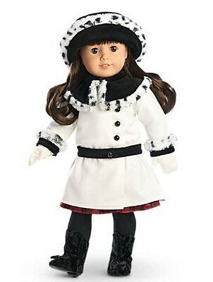 American Girl Doll Samantha's Fancy Coat and Hat Set New
