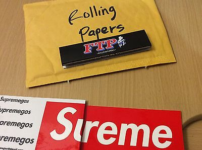 Ftp Rolling Papers King Size Yeezy Supreme Collectors Item