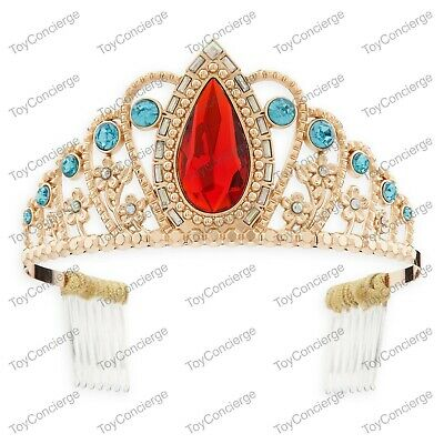 DISNEY Store COSTUME Jewelry TIARA for Kids ELENA OF AVALOR on Card NEW