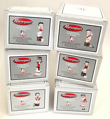 PHB Midwest of Cannon Falls Hinged Boxes  - Betty Boop Hinged Box Set of 6