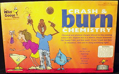 Awesome The Wild Goose Crash and Burn Chemistry Science Set Adult Supervision