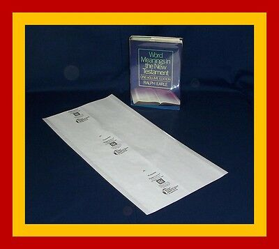 "10 - 12"" x 24"" Brodart Fold-on Book Jacket Covers - Lo-Luster clear mylar"