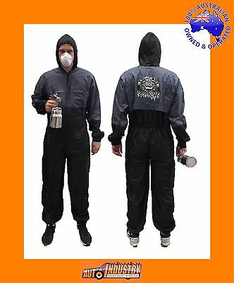 Spray Painters Quality Washable Lightweight Nylon Overall / Spraysuit Zipper-Frt