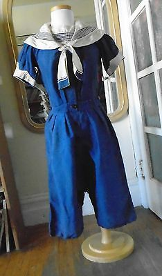 antique vintage swimsuit with skirt Victorian Edwardian 1890s - 1900