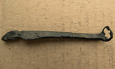 Perfect Viking Iron Key for Lock 8-10 AD Kievan Rus