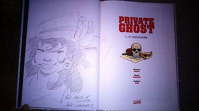 BD - Private Ghost Tome 3 - EO + Superbe Dédicace de Carrere - Crisse - Soleil