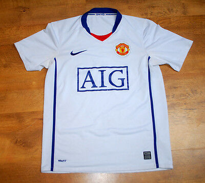 Nike Manchester United 2008/2010 away shirt (Size S)