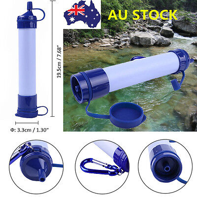 Portable Outdoor Survival Purification Filter Emergency Cleaner Drinking Water