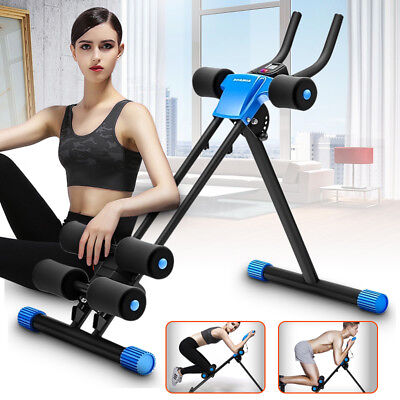 Abs Generator Workout Fitness Gym Tummy Abdominal Exerciser Trainer Toner Muscle