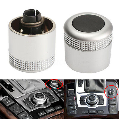 Multimedia MMI Volume Knob Rotary Button Switch Setting For Audi A6L C6 Q7 S6 S8