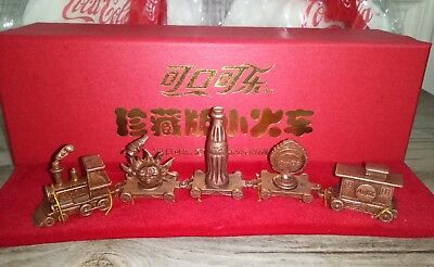 Rare China Coca Cola Limited Edition Model Trains With Box