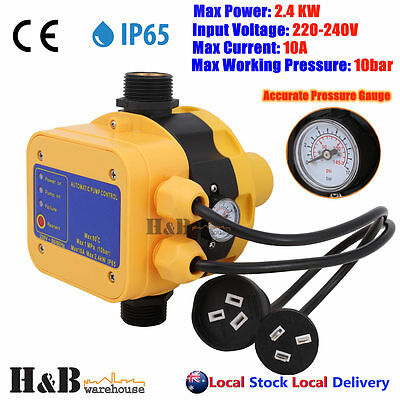 Automatic Water Pump Controller AUto Control Electronic Pressure Switch G0002
