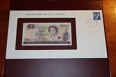 New Zealand P.170a 2 Dollar ND (1981-85) UNC Banknotes Of All Nations