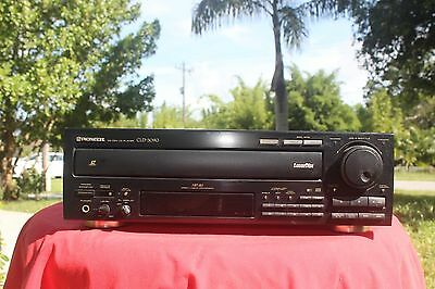 VINTAGE Pioneer CLD-3090 A/V Audio Video Laserdisc Compact Disc CD CDV LD Player