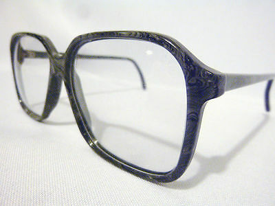 Vintage Regency Eyewear Star Grey Marble 57/13 Men's Eyeglass Frame NOS