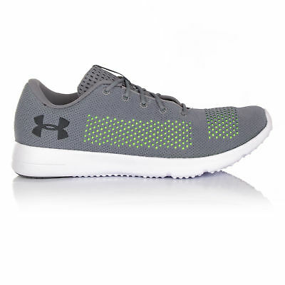 Under Armour Rapid Mens Grey Cushioned Running Sports Shoes Trainers Pumps