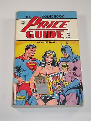 The Comic Book Price Guide No. 13 1982-Wonder Woman Superman Batman