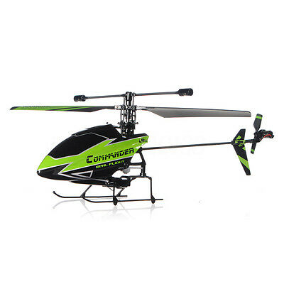 WLtoys V911-1 2.4G 4CH RC Helicopter New Plug Green BNF Helicóptero Verde