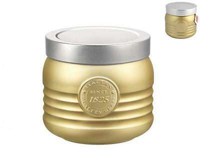 BORMIOLI ROCCO Set 6 1825 0.75 Tin Workshop Gold Food Containers