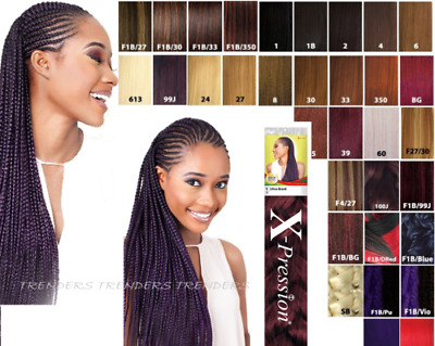 X-Pression (Xpression) Premium Ultra Hair For Braiding Extension