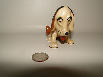 "VINTAGE HOUND DOG FIGURINE,  JAPAN, Approx 3"" Tall"
