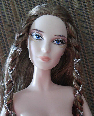 Barbie Doll Nude - 'lady Of White Woods' - Long Hair - Pretty