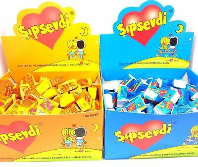 Love Is Bubble Chewing Gum Valentine Gift Birthday Comics - Choose Your Flavor
