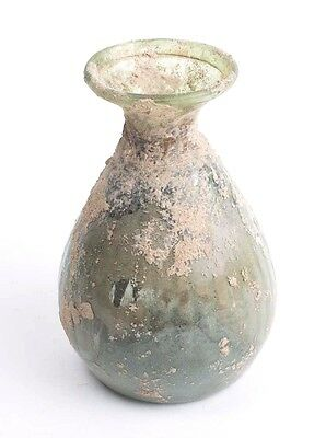 Ancient Roman Glass Bottle c.1st-2nd cent AD.