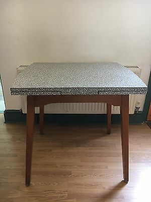 Mid Century Guildform Formica Extending Kitchen Table