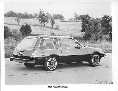 1979 AMC Pacer D/L Wagon ORIGINAL Factory Photo oub5451