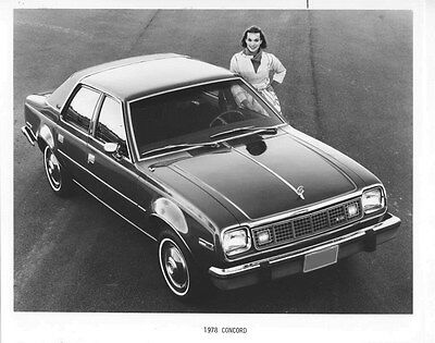 1978 AMC Concord ORIGINAL Factory Photo oub5463