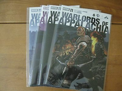 Warlords of Appalachia #s 1 2 3 4 comic books - Boom! Studios + Johnson + Scharf