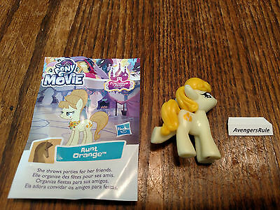 My Little Pony Wave 21 Friendship is Magic Movie Collection Aunt Orange