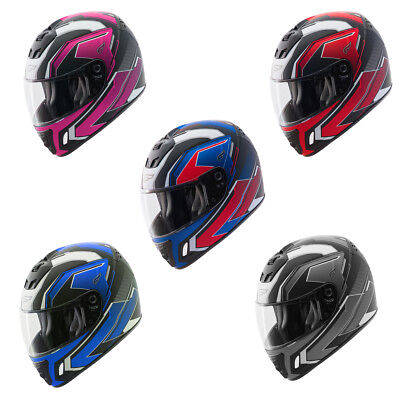 Adult Fulmer N4 Tech 9 Street Motorcycle Helmet Full Face DOT/ECE Approved