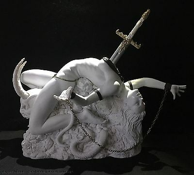 Erotic Female fantasy statue Lilith 2,  1/4 Scale Jaydee Models Sculpture White