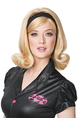 Brand New 60's Retro Hairspray Flip Women Costume Wig