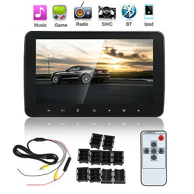 "10"" Digital HD LCD Auto Car Headrest Monitor MP5/MP3/TV/IR/FM Radio Player"