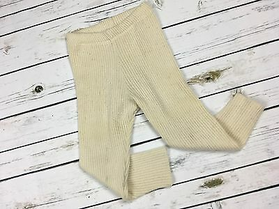 2T 3T DISANA Leggings 100% MERINO WOOL Baby Children Knit Longies Knitted Pants