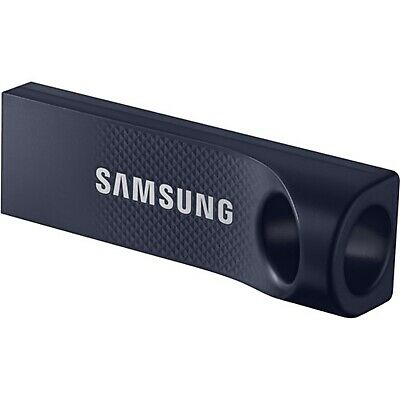 Samsung 128GB Bar 130MB/s USB 3.0 Flash Drive Memory Stick Thumb MUF-128BC Blue